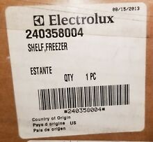 NEW OEM 240358004 Electrolux Refrigerator Freezer Shelf FREE US SHIPPING