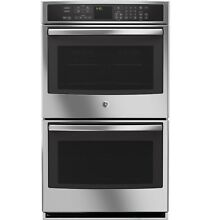 GE PT9550SFSS Profile 30  Built In Double Convection Wall Oven   Floor Display