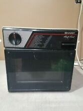 Sharp Half Pint Microwave Oven Model R 4060 Has Glass w  FREE SHIP