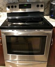 Kenmore Electric Range  Model 790 9418 3310   4 yrs old  barely used