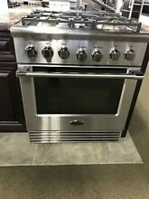 RGV2305N DCS 30  GAS RANGE  5 BURNERS DISPLAY MODEL