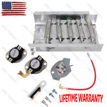 Dryer Heating Element Kit for Whirlpool Kenmore Electric Dryers 279838 279816 US