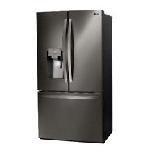 LG 36  Smart wi fi French Door Black Stainless Steel Refrigerator LFXS26973D