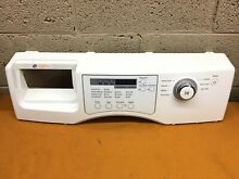 Samsung Front Load washer WF206BNW XAA Front Control Panel w  control panel