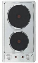 Built In Hob Cooktop Autark Double Cooking Plate Stainless Steel Domino