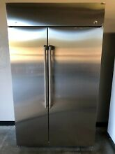 GE Cafe  48  CSB48WSKSS  Built in Side by Refrigerator Stainless