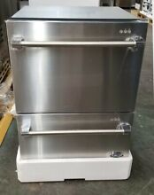 NEW OUT OF BOX 24  DCS DOUBLE DRAWER STAINLESS STEEL DISHWASHER PRO HANDLES