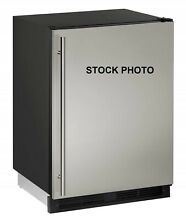 U LINE 1000 SERIES 24  UNDERCOUNTER REFRIGERATOR WITH ICE MAKER STAINLESS STEEL