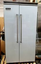 VIKING 42 INCH STAINLESS STEEL BUILT IN REFRIGERATOR FREEZER REFURBISHED