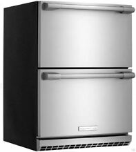 Electrolux ICON 24  Undercounter Built In Double Drawer Refrigerator E24RD50QS