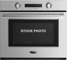 NEW OUT BOX DCS 30  STAINLESS STEEL SINGLE WALL OVEN PROFESSIONAL HANDLE