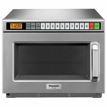 Panasonic 0 6 Cu  Ft  1200 Watt  Keypad Control  Commercial Microwave  Lot of 1