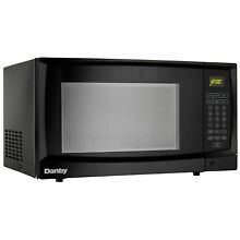 Microwave Oven 1 1 Cu  Ft  Black  1000 Watts  Lot of 1