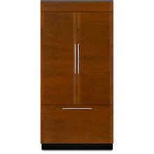 Jenn Air JF36NXFXDE 36  Built In French Door Refrigerator Panel Ready