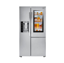 LG 36 Inch Counter Depth Side by Side Refrigerator Stainless Steel LSXC22396S