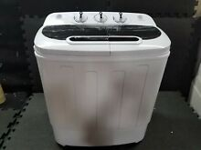 13lbs Portable Compact Mini Twin Tub Washing Machine Wash Spin For RV Home Dorms
