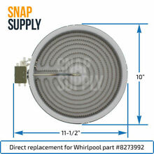 Snap Supply Surface Element for Whirlpool Directly Replaces 8273992