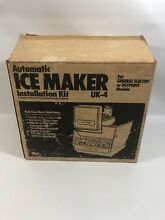 Automatic Ice Maker Install Kit UK 4 GE Hotpoint Open Box No Fill Tube
