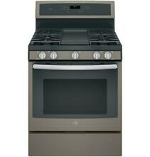GE Profile Series PGB911EEJES Slate 30  Free Standing Gas Convection Range