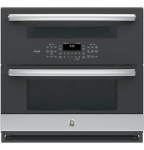 GE PT9200SLSS Profile  Series 30  Built In Twin Flex Convection Wall Oven