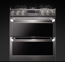 LG SIGNATURE 30 Inch Slide In Dual Fuel Range Stainless Steel LUTD4919SN