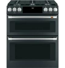 GE Cafe C2S950P3MD1 30  Slide  in Dual Fuel Double Oven with Convection Range