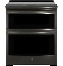 GE Profile PS960BLTS 30  Slide In Electric Double Oven Convection Range