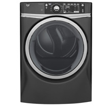 GE Diamond Gray Laundry Bundle GFW480SPKDG Washer   GFD48ESPKDG Dryer W  Steam