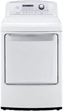 LG 27 Inch 7 4 cu  ft  Electric Dryer NO BLEMISHES White DLE4970W