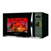 Emerson 1 2 Cu  Ft  1100 Watt Microwave with Grill  Black