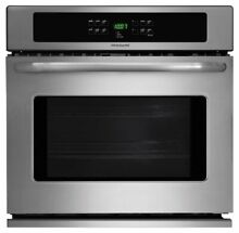 Frigidaire   30  Built In Single Electric Wall Oven   Stainless Steel FFEW3025PS