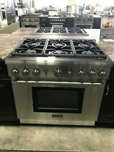 PRG366GH THERMADOR 36  PRO HARMONY GAS RANGE DISPLAY MODEL