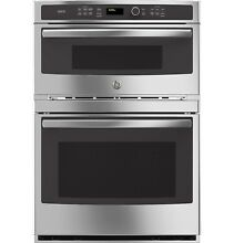 GE Profile PT9800SHSS 30 in  Combo Double Wall Oven w  Convection   Advantium
