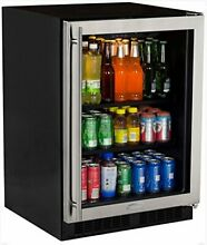 Marvel ML24BCG0RS 24  Beverage Center Stainless Frame Glass