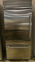 ZICP360NHLH MONOGRAM 36  STAINLESS STEEL BUILT IN BOTTOM FREEZER REFRIGERATOR