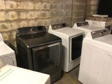 Lot of 35 Gas Dryers   Samsung  LG  Whirlpool  many other brands