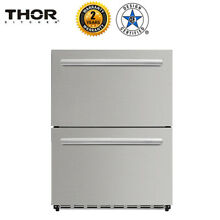 24  Under Counter Built In Outdoor Drawer Refrigerator High Quality  HRF2401U