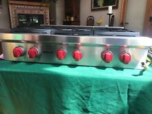 WOLF 36  Sealed Burner Rangetop   6 Burners   PERFECT CONDITION