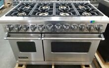 VIKING 7 SERIES DUAL FUEL 48 INCH STAINLESS RANGE MADE IN 2018