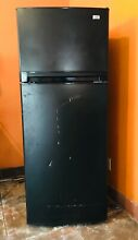 Frigidaire   Black   5 ft tall 2 ft wide 2 ft deep Freestanding Top Freezer