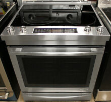 Jenn Air JES1450DS 30  Free Standing Electric Range Stainless Steel