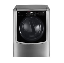 LG TURBOSTEAM SERIES 29  Electric Dryer 9 0 cu ft  Graphite Steel DLEX9000V