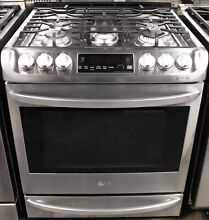 LG LSG4513ST 30  Slide in Gas Range Stainless Steel