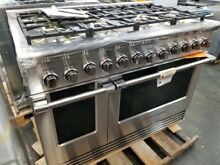 NEW OUT OF BOX FISHER PAYKEL 48  GAS RANGE 8 BURNERS 2 OVENS STAINLESS STEE