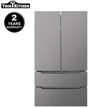 36  Wide 22 5 Cu ft Stainless Steel Refrigerator  Ice Maker Thor kitchen