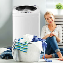 Automatic 7 7 lbs Laundry Washing Machine Portable Compact Built In Drainage New