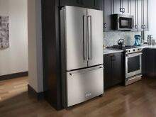 KitchenAid KRFF305ESS 36  Standard Depth French Door Refrigerator Interior Disp