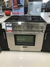 PRG364NLH THERMADOR 36  PRO HARMONY GAS RANGE 4 BURNER GRILL DISPLAY MODEL