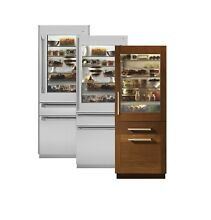 ZIK30GNZII MONOGRAM 30  PANEL READY BUILT IN BOTTOM FREEZER REFRIGERATOR