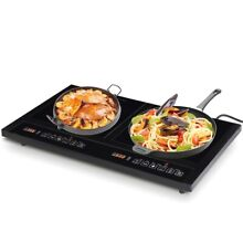 Costway Brand New Electric Dual Induction Cooker Cooktop